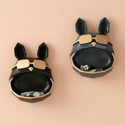 Resin Cool Dog Storage Big Mouth Animal Wall Mount Small Objects Box Home Decors $88.19