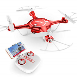 Syma Camera Drone Headless Helicopter Quadcopter Kids Toys Red $143.47
