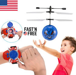 Flying Toy Ball LED Mini Infrared Sensor Hand Drone Helicopter Toys for Kids NK $5.79