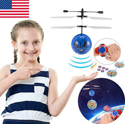 Flying Toy Ball LED Mini Infrared Sensor Hand Drone Helicopter Toys for Kids C6 $5.79