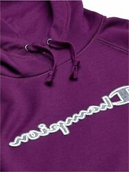 Champion Women#x27;s Powerblend Hoodie Purple Size X Large vTcd $14.11