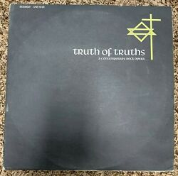 Truth of Truths m 2LP A Contemporary Rock Opera $7.50