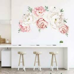 Self adhesive Wall Stickers Floral Flower Mosaic Kitchen Home Room Modern Decor $15.48