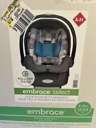 Brand New In Box Green Gray Evenflo Embrace Infant Car Seat Graco Evenflo $85.00