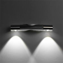 Cube LED Wall Lights Modern Up Down Sconce Lighting Fixture Lamp Indoor Outdoor $9.22