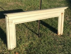 Antique Wood Fireplace Mantel Suround Architectural Salvage Victorian Rustic A49 $395.00