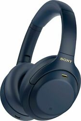 Sony WH 1000XM4 Over the Ear Noise Cancelling Wireless Headphones Blue #55 $269.95
