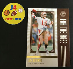 2020 Panini Legacy For the Ages Insert #FTA JM Joe Montana $1.29