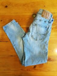 American Eagle Outfitters Young Mens Next Level Flex Skinny Jeans 26W x 28L $15.00