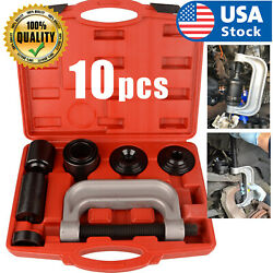 Heavy Duty 4 in 1 Ball Joint Press amp; U Joint Removal Tool Kit with 4x4 Adapters $49.98