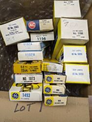 Orig. NOS Auto Small Lamps Bulbs 4 LOTS CHOICE Mixed Brands $30.00