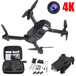 2020 Foldable Mini RC Quadcopter Drone With Gesture Control 4K HD Dual Camera $48.84