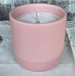 J. Crew Illume Scented Soy Candle Decorative Rose Pink Ceramic 7.6 Oz New $22 $10.99