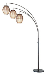 Adesso 4026 26 Maui Arc Lamp – 82 inch 3 Light Floor Lamp – Antique Bronze Lamp. $237.58