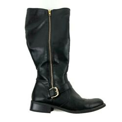 White Mountain Womens Boots Black 16quot; Tall 8.5 $20.00
