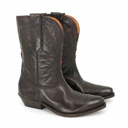 NEW Golden Goose Wish Star Ankle Cowboy Boots size 36 $500.00