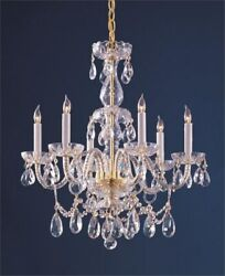 Crystorama Lighting Six Light Chandelier Chandelier Crystal 6 Light $491.20