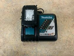 Makita DC18RC Charger W 18v Battery $49.99