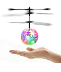 RC Flying Disco Ball Mini LED Helicopter Ball Hovering Motion Sensing Tech $9.99