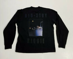 Upstairs at Eric#x27;s Buggie Small Bed Stuy Long Sleeve Embroidered Shirt Size M $200.00