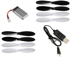 Hummingbird Micro Quadcopter 3.7v 380mAh Battery Charger w Propellers $16.95