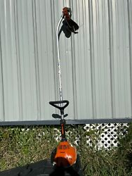 STIHL FS70R Commercial With Curved Lawn Edger Attachment FS 70 R 27cc