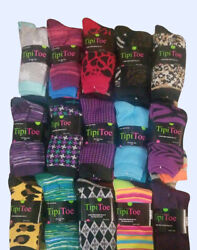 72 Pairs Wholesale Bulk Lot Women#x27;s Novelty Dress Crew Socks Colors May Vary $36.99