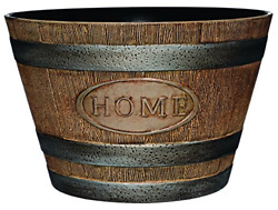 Classic Home and Garden 70 Whiskey Barrel 15quot; quot;Home Distressed Oak $22.15