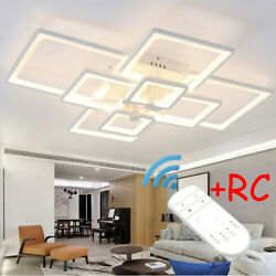 8Head Acrylic Modern LED Lamp Chandelier Ceiling Light Indoor Home Light Fixture
