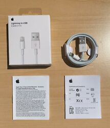 Original OEM Apple iPhone 11 X 8 7 6 5 Lightning USB Cable Charger 1m 3FT $6.99