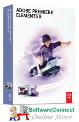 Adobe Premiere Elements 8 Video Editor NEW amp; SEALED 2 PC Licence AU $69.95