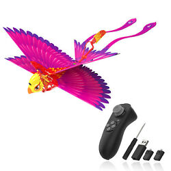 RC Helicopter Mini Drone Tech Toy Bionic Flying Bird Remote Control Kids#x27; Toys $34.99