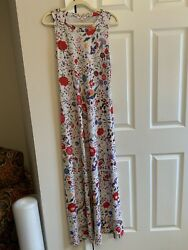 Johnny Was Floral Maxi Dress $95.00