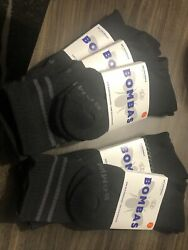 5 pair of Bombas Unisex Adult Bee Better Mid Calf High Socks Size Large $17.50