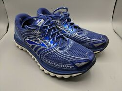 Brooks Glycerin 12 Mens Size 9.5 Narrow Blue Silver Running Shoes $49.99