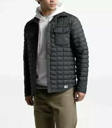 NWT The North Face MEN THERMOBALL™ ECO SNAP JACKET ASPHALT GREY PINE FLOAT PRINT $134.95