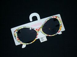 Gymboree girls quot;BEACH SHACK quot; SUNGLASSES...FLORAL...sz 4 and UP...NWT $7.00