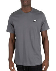 Men#x27;s Nike Grey Sportswear Club T Shirt