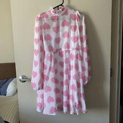 Lazy Oaf Cheap Frills dress size UK10 $125.00