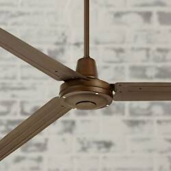 72quot; Industrial Ceiling Fan with Remote Large Oil Rubbed Bronze for Patio $269.95