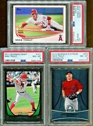 Absolute Mystery Pack Relic Auto Baseball Cards Mike Trout Rookie Edition $44.99