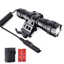 WindFire 2000Lumens LED Weapon Light Tactical Flashlights with Offset Rail Mount $28.99