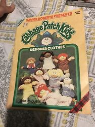🔥Cabbage Patch Kids Designer Clothes Xavier Roberts Ready to Cut Patterns