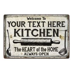 Personalized Kitchen Metal Sign Custom Cooking Sign Gift 108120033001 $41.95