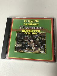 Dr Demento Presents The Greatest Christmas Novelty CD Of All Time $8.99