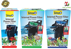 Tetra Whisper Internal Filter in Tank Filtration Aquariums Up to 30 Gallons $17.98