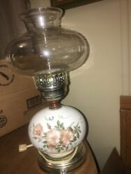 Vintage Lamp Hand Painted Victorian Style $28.00