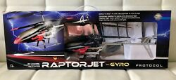 Protocol RaptorJet with Gyro Radio Controlled RC Helicopter $29.99