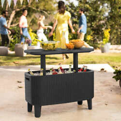 Keter Bevy Bar Table and Cooler Combo $129.05