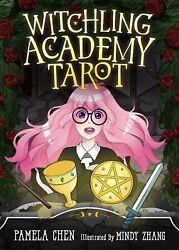 Witchling Academy Tarot KIT Deck Cards amp; Book Set Wiccan Pagan Metaphysical $35.00